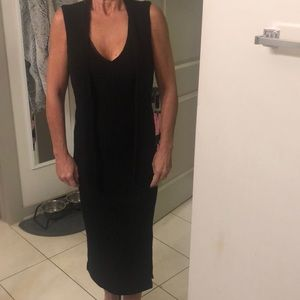 Midi black dress!